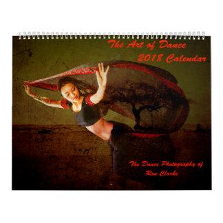 2018 Kunst van de Kalender van de Dans