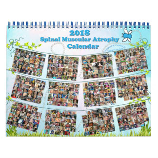 2018 Ruggegraats SpierAtrophy (SMA) Kalender