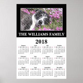 2018 Uw Favoriet Poster van de Kalender van de