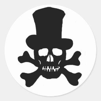 20 de Schedel van het Vergift van stickers en de