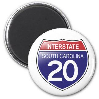 20 Magneet tusen staten de Zuid- van Carolina