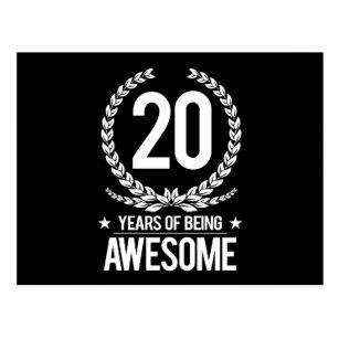 De Van 20 Jaar Verjaardag Cadeaus Zazzle Nl