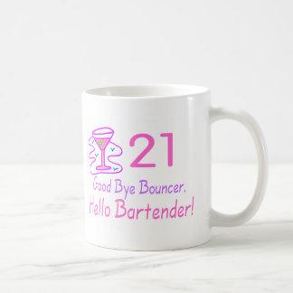 21 vaarwel (de Roze) Barman van Hello van de Koffiemok