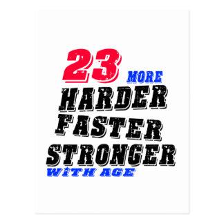 23 Hardere Snellere Sterker met Leeftijd Briefkaart