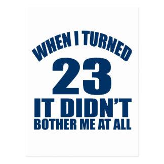 23 het Design van de verjaardag Briefkaart