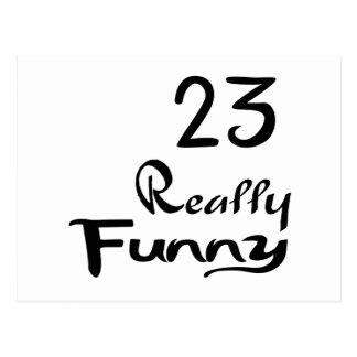 23 het werkelijk Grappige Design van de Verjaardag Briefkaart