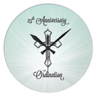 25ste Jubileum van Ordening, Ronde, Gift Ronde Klok Large