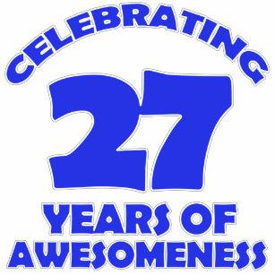 Verjaardag 27 Jaar T Shirts Zazzle Nl