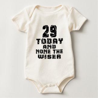 29 vandaag en niets Wijzer Baby Shirt