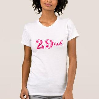 29ish grappige 30ste verjaardag die 30 jaar oud t-shirts