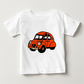 2 cv vintage Franse auto Baby T Shirts