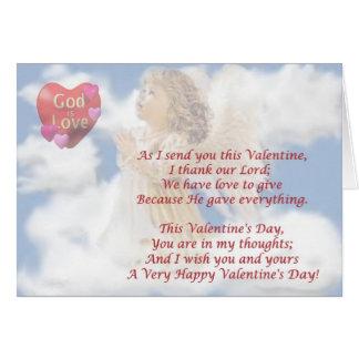 2. De engelachtige God is Liefde - de Briefkaarten 0