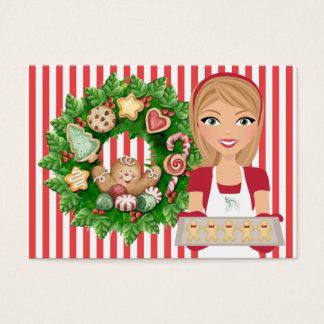 #2 de Kaart van de Keuken van Kerstmis - SRF Visitekaartjes