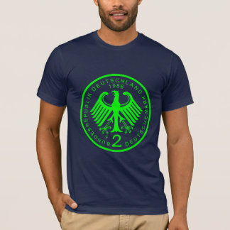 2 Deutsche Marks_Green T Shirt