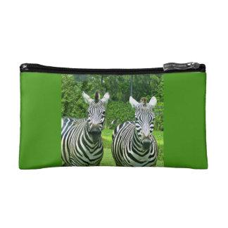 2 leuke Zebras Cosmetica Tasje