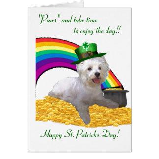 2. St Patricks van Westie Kaart