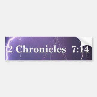 2 stelt de Sticker van de Bumper van het 7:14 te b