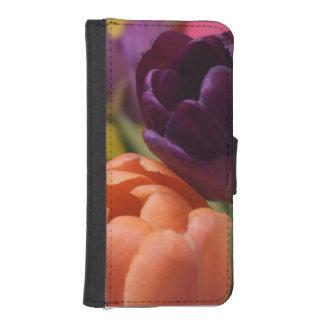 2-tulpen iPhone 5 portefeuille hoesjes