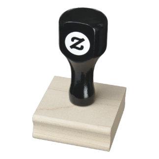 """2"""" x 2"""" de Houten Zegel van de Kunst Rubberenstempel"""