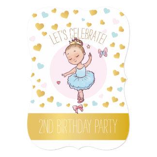 2de Partij van de Verjaardag | de Ballerina van de Kaart