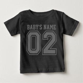2de Verjaardag (de Naam van de Klantgerichte Baby) Baby T Shirts