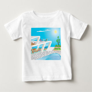 2FloorMansionOceanFront_SMX Baby T Shirts
