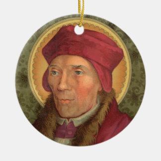 2for1 heiligen:  SS. John Fisher & Thomas More Rond Keramisch Ornament