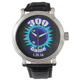300 de perfecte Blauw van het Spel Horloge
