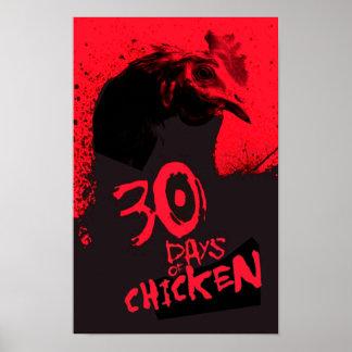 30 DAGEN van KIP Poster
