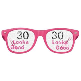 30 kijkt de Goede Grappige Roze 30ste Gift van de Zonnebril