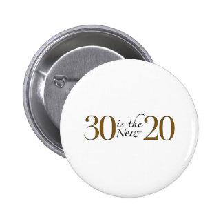 30 zijn nieuwe 20 ronde button 5,7 cm