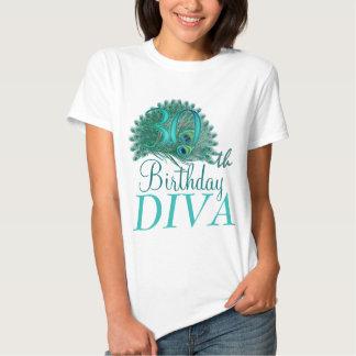 30ste Diva van de Verjaardag Overhemden T Shirt