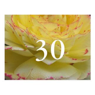 30ste Verjaardag Briefkaart