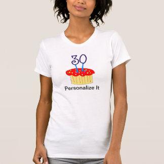 30ste Verjaardag Cupcake Tshirt