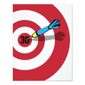 30ste Verjaardag - de Uitnodiging van Bullseye van