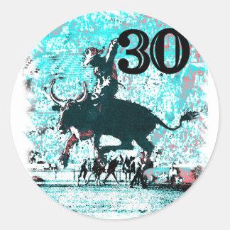 30ste Verjaardag Ronde Sticker