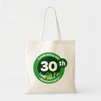 30ste Verjaardag Canvas Tassen