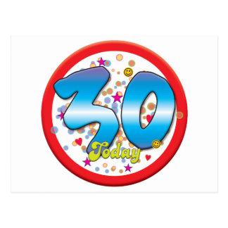 30ste Verjaardag vandaag