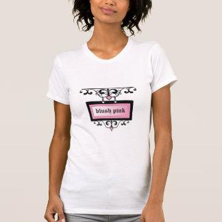 311 bloos de Roze Flikkering van het Damast T Shirt