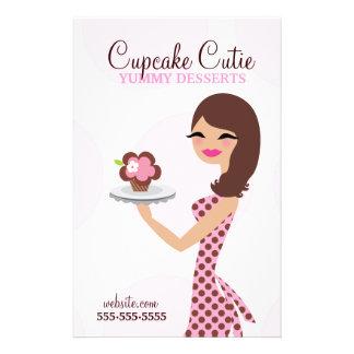311 Carlie de Vlieger van Cupcake Cutie Flyer 14 X 21,6 Cm
