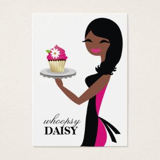 311 Daisy Cupcake Cutie Afrikaanse Amerikaan Visitekaartjes