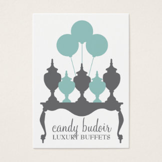 311 snoep Budoir Robin Blue Gray Visitekaartjes
