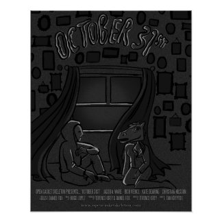 31 het Poster van oktober