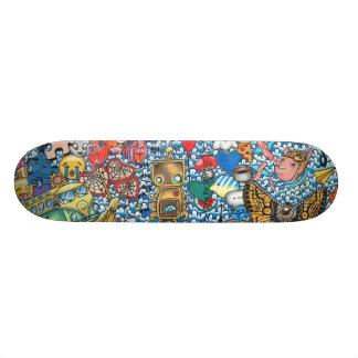 34 dagen 18,4 cm mini skateboard deck