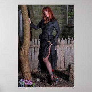 """36 de Benen van Witchy van de Katjes Chrissy van"""" Poster"""