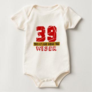 39 vandaag en niets Wijzer Baby Shirt