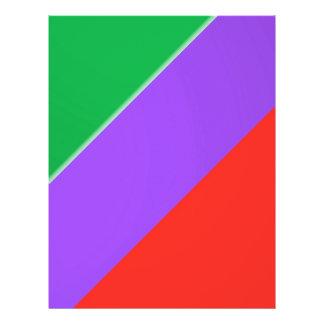 3 de Kleur van de streep:  Zijdeachtige Flyer 21,6 X 27,9 Cm