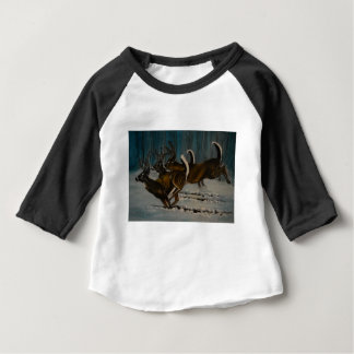 3 Deers Baby T Shirts