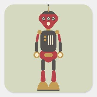 3-Eyed de Sticker van de Robot