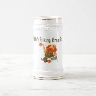 3 grappige van Vikingen Witte/Gouden 22 van de oz- Bierpul
